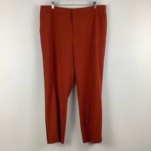 Contemporaine for Simons Tapered Trousers Orange